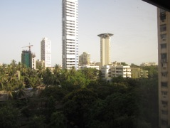 Mumbai: first view of the city