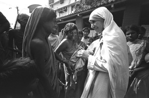Mother Theresa in Calcutta
