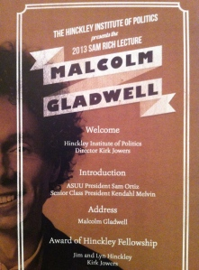 A Night with Malcolm Gladwell