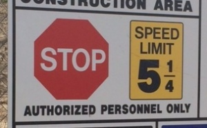 5 1/4 Speed Limit